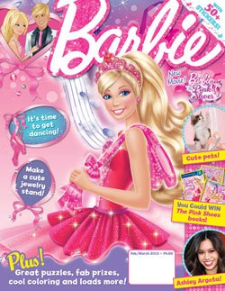 Barbie films Magzine got on a facebook