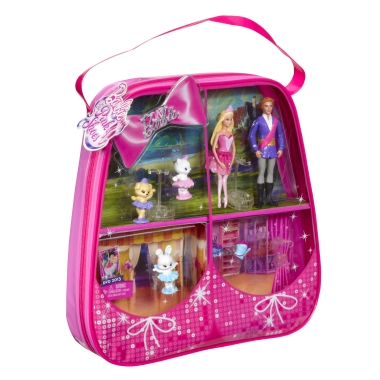 búp bê barbie in the màu hồng, hồng shoes-gift set bởi Mattel