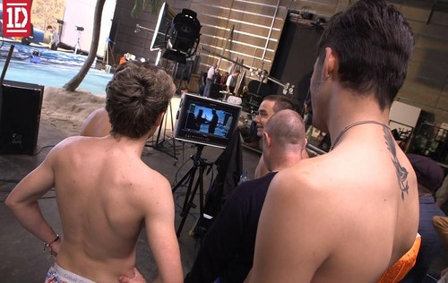 Behind The Scenes Kiss You