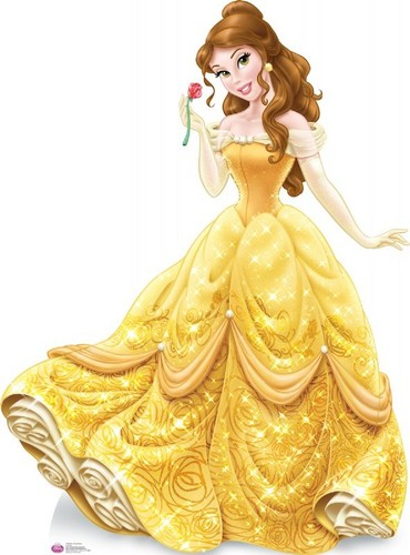 Disney Princess karatasi la kupamba ukuta entitled Belle new look