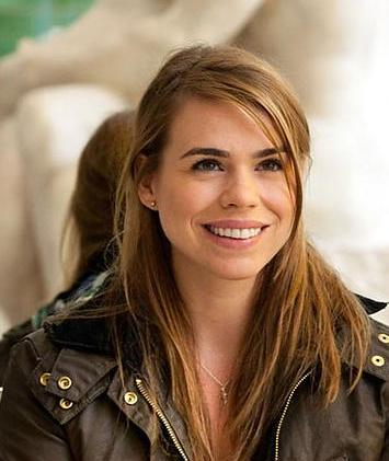 Doctor Who achtergrond containing a portrait titled Billie Piper