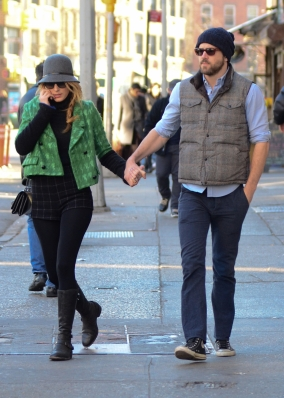 Blake & Ryan out in NYC
