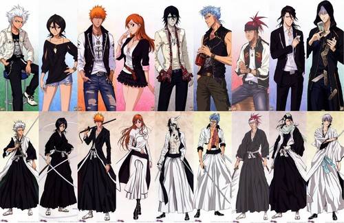 Bleach anime achtergrond called Bleach