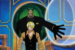 Blueno Vs Sanji