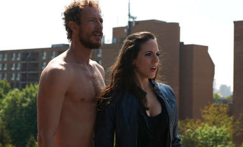 Lost Girl wallpaper probably containing a hunk and skin called Bo & Dyson