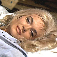 "Bond Girl, Shirley Eaton, As ""Jill Masterson"" From The 1964 Bond Film, ""Goldfinger"""