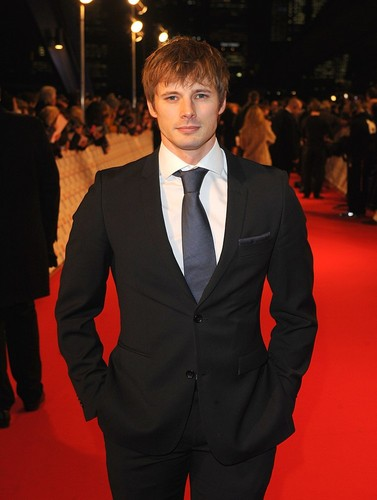 Merlin on BBC wallpaper with a business suit, a suit, and a single breasted suit called Bradley James - NTA 2013