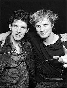 Bradley James wallpaper called Bradley and Colin