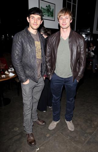 Bradley and Colin
