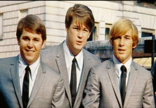 The strand Boys Hintergrund containing a business suit, a suit, and a double breasted suit titled Brian, Dennis & Carl Wilson