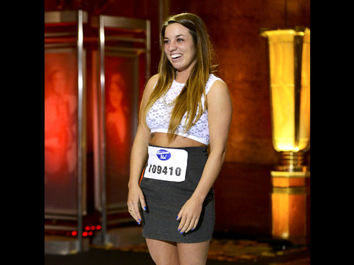 American Idol wallpaper probably containing a leotard titled Brooke Hayden