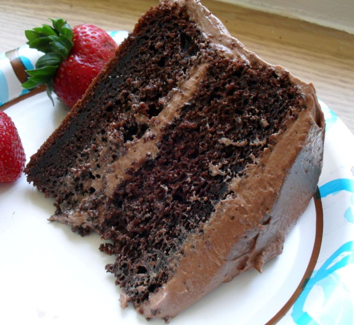 CHOCOLATE CAKE YUM! - Chocolate Photo (33482002) - Fanpop