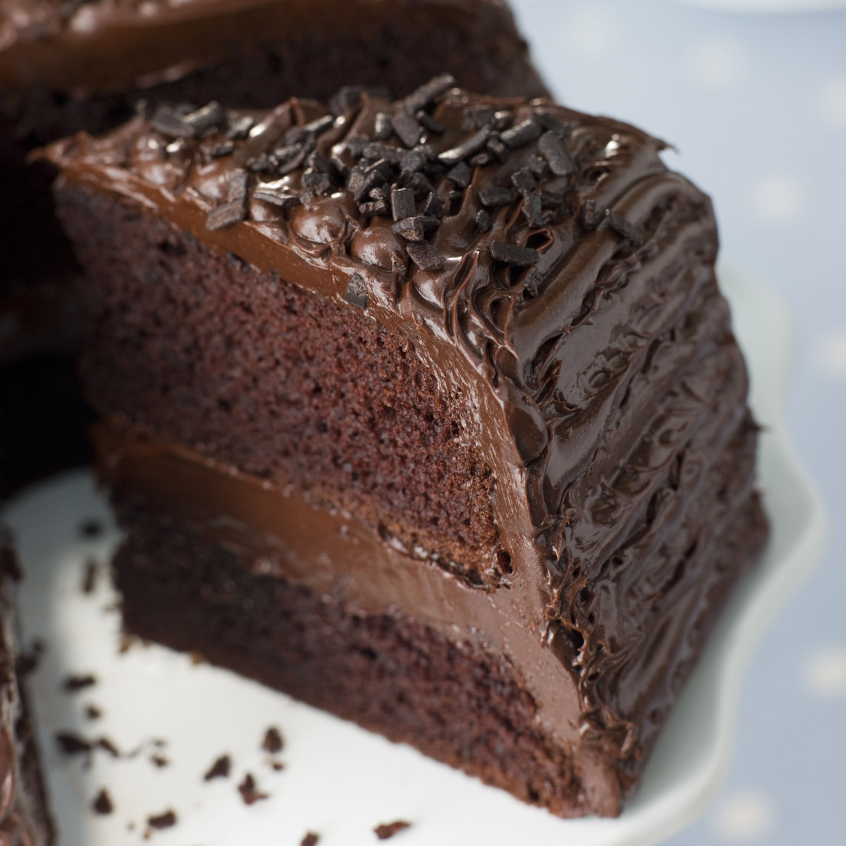 chocolate cake recipe The most amazing chocolate cake is here moist, chocolaty perfection this is the chocolate cake you've been dreaming of.