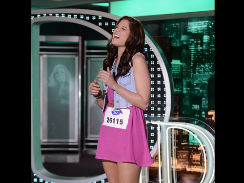 American Idol Hintergrund possibly with bare legs, hosiery, hot pants, and hot pants, hot-pants entitled Carah Crosswhite