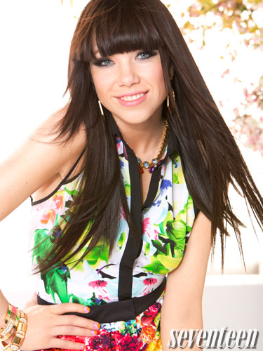 Carly Rae for Seventeen Magazine