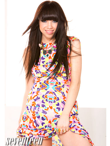 Carly Rae Jepsen wallpaper called Carly Rae for Seventeen Magazine