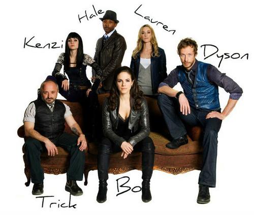 Lost Girl wallpaper entitled Cast Of Lost Girl