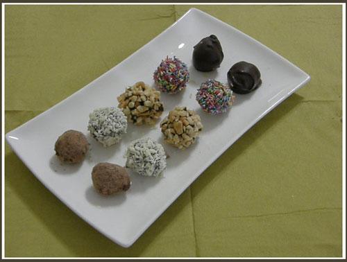Sô cô la Truffles Recipe with Baileys Irish Cream