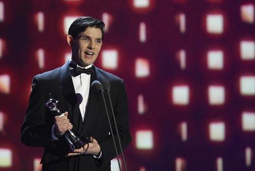 Colin morgan karatasi la kupamba ukuta containing a business suit entitled Colin morgan - NTA 2013