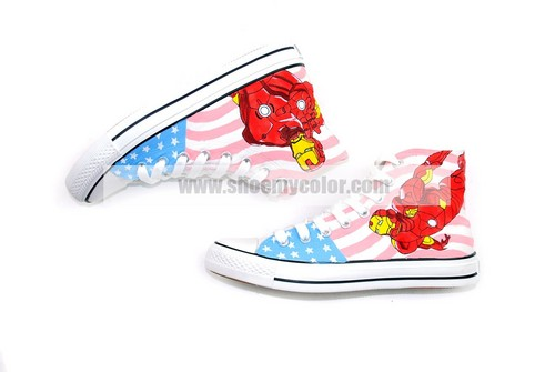 Crazy love Iron Man sneakers for this Spring!