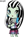 Cute Frankie Stein - monster-high fan art