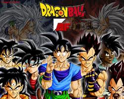 Dragon Ball Z Kai wallpaper containing animê entitled DBZ AF