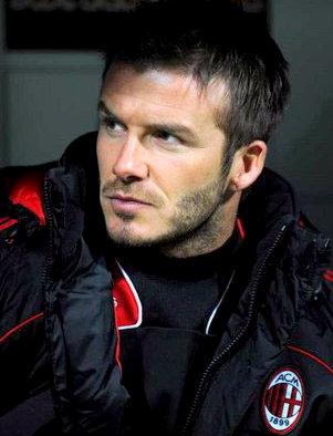 David Beckham Just beauty