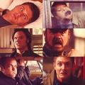 Dean, Cas, Sam, Bobby and Crowley :D
