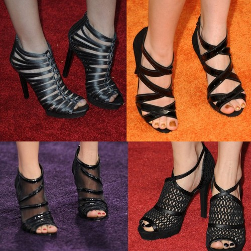 Debby Ryan kertas dinding probably containing a hip boot and a sandal titled Debby Ryan's shoes