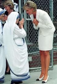 Diana And Mother Teresa, Humanitarians