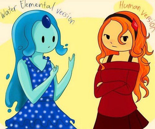 Different Versions Of Flame Princess