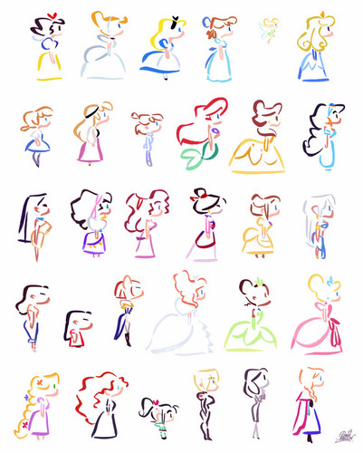 disney Extended Princess wallpaper titled disney Girls