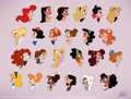 Disney Heroines - disney-leading-ladies fan art