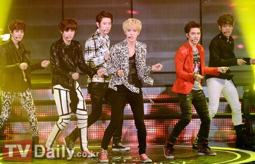 EXO-K @Seoul 음악 Awards