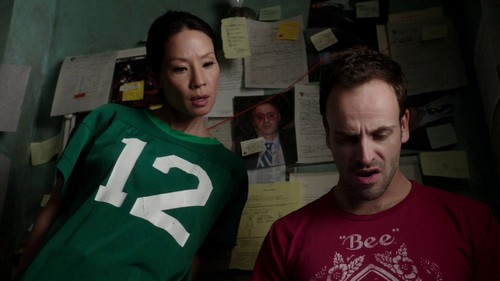 Sherlock & Joan wallpaper containing a jersey titled Elementary