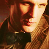 The Eleventh Doctor photo probably with a business suit and a suit entitled Eleven