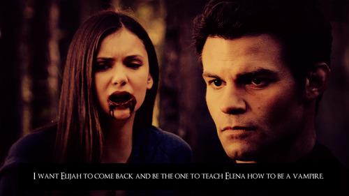 Elijah ღ Elena confessions
