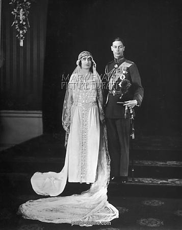 Elizabeth Bowes-Lyon marries Albert, Duke of York