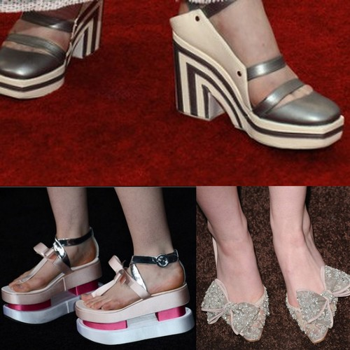 Elle Fanning's shoes