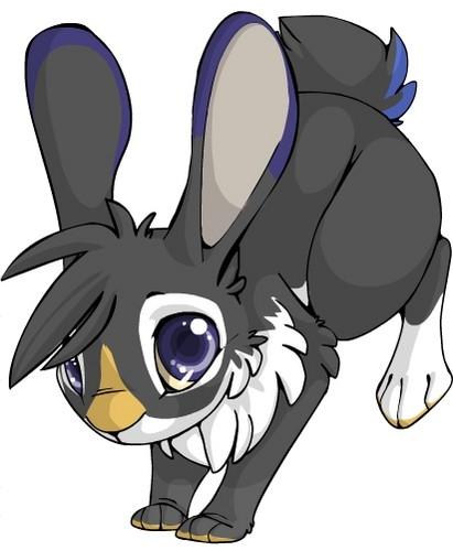 Emma as a bunny. :3