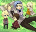 England, Sealand, Hong Kong, America, and Canada