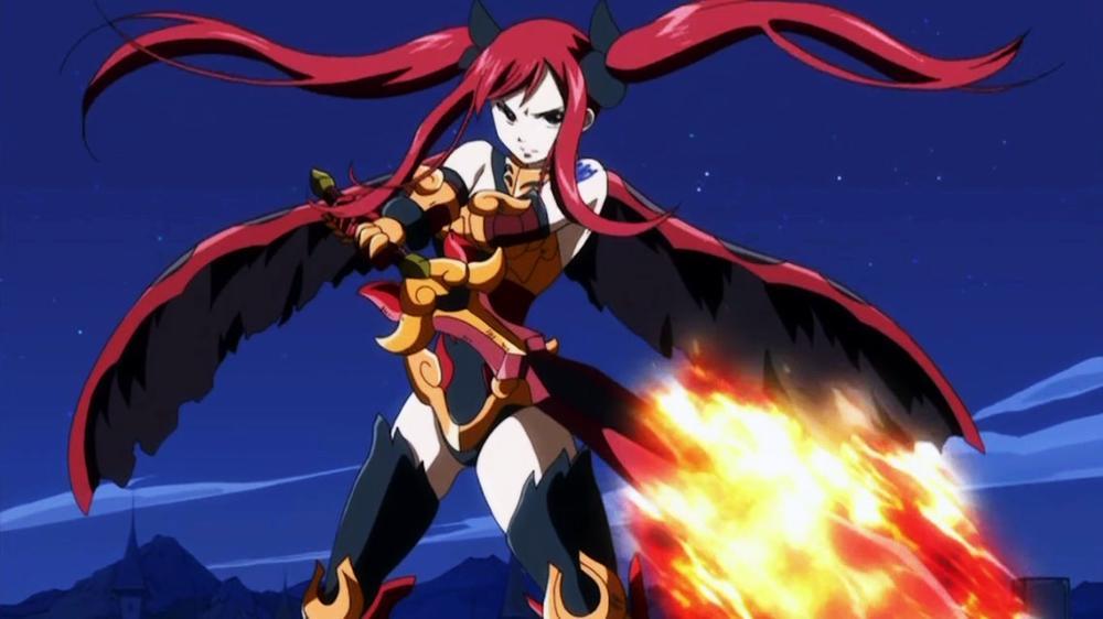 Flame Empress Anime Erza Flame Empress Armor