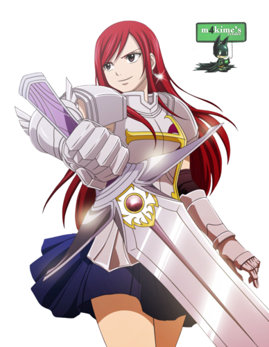 Erza Scarlet wallpaper entitled Erza Scarlet