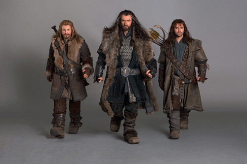 Fili,Kili and Thorin