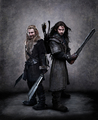 Fili and Kili Wallpaper