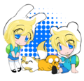 Finn and Jake and Fionna and Cake