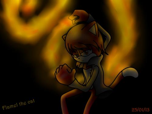 fuego in the dark