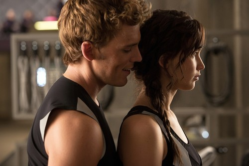 Catching Fire: Finnick and Katniss