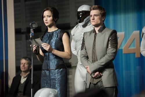 Catching Fire: Peeta and Katniss
