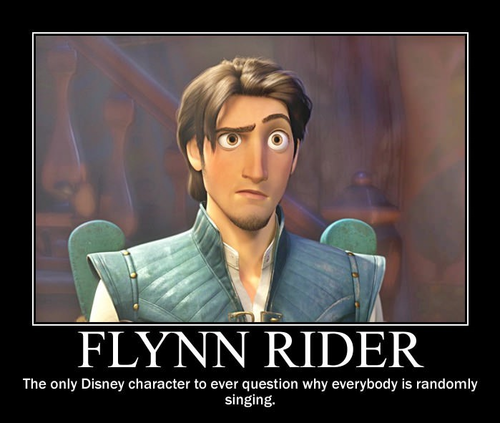 Childhood Animated Movie Heroes wallpaper containing a portrait called Flynn Rider